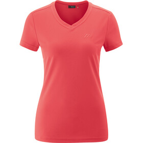 Maier Sports Trudy T-shirt Dames, rood